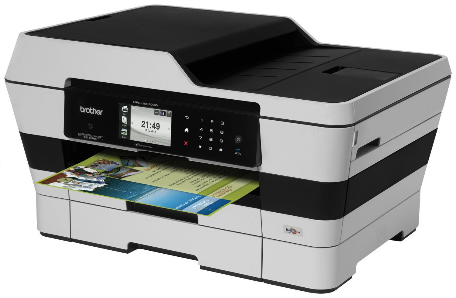 Brother Wireless Color Inkjet All-In-One Fax Machines