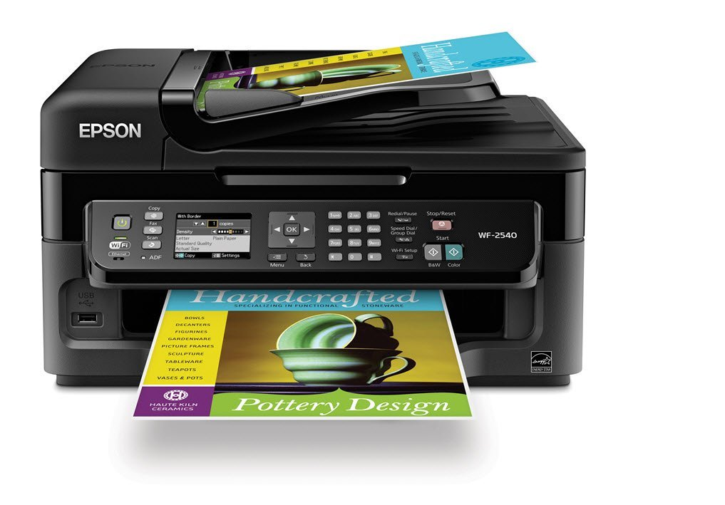 Epson WorkForce WF-2540 Wireless All-in-One Fax Machines