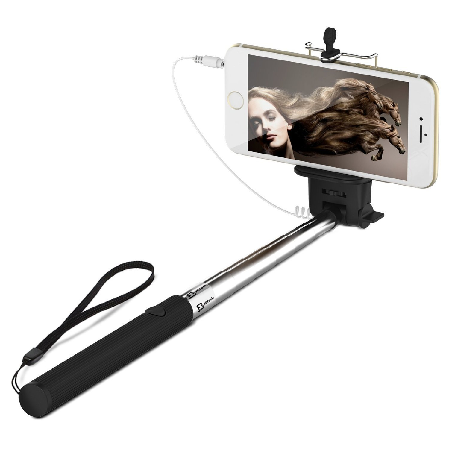 JETech Battery Free Selfie Sticks