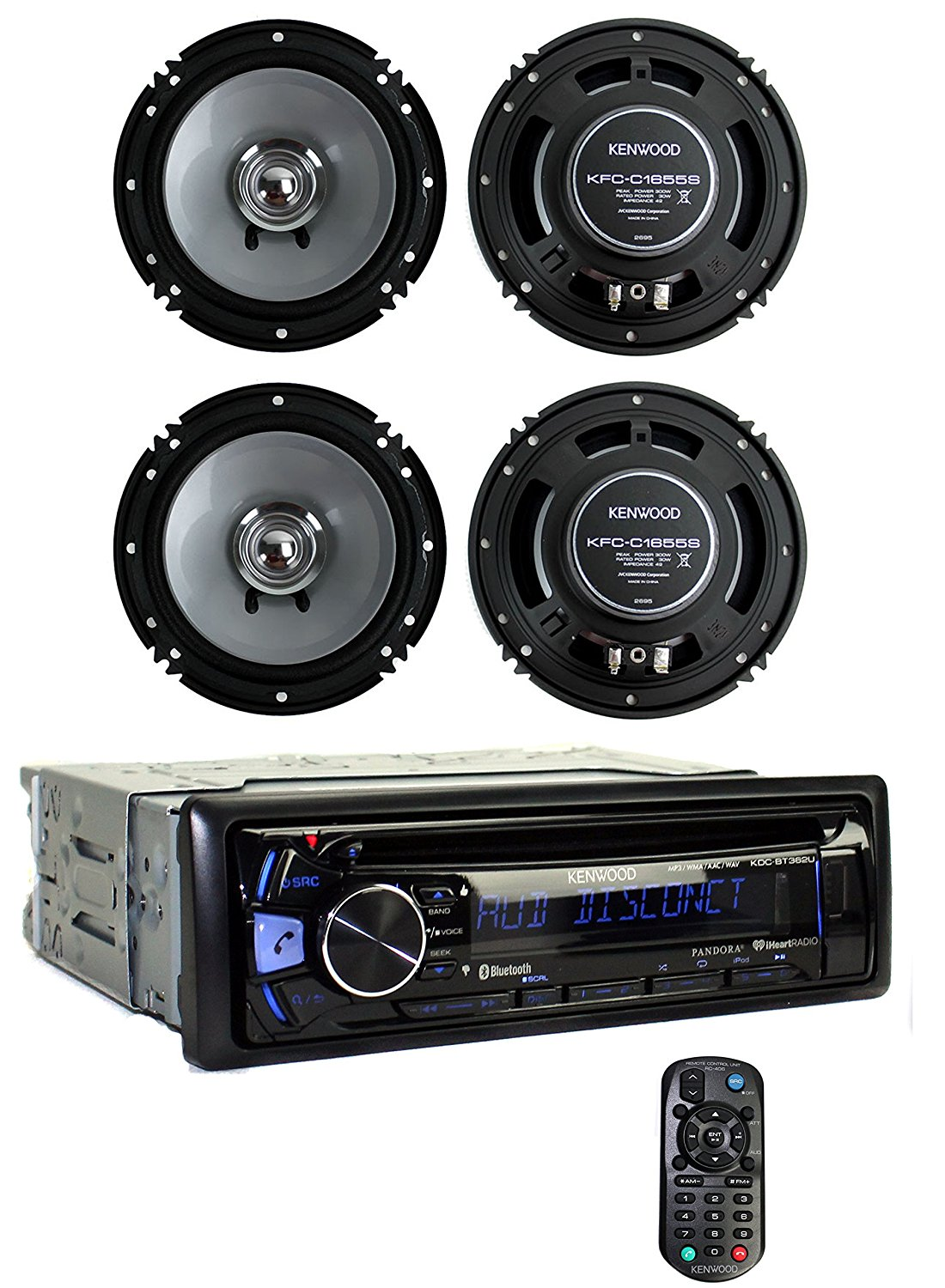 Kenwood KDC-BT362U Car speakers