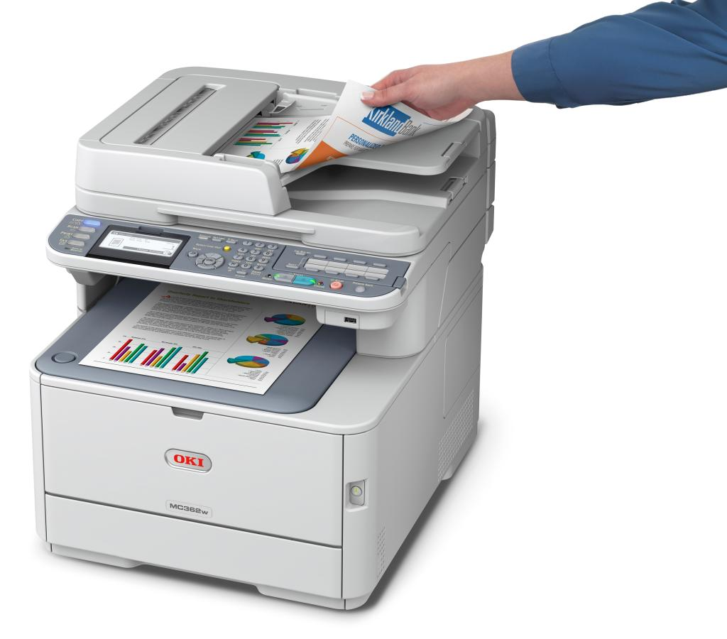 Oki Data MC362w MFP Fax Machines
