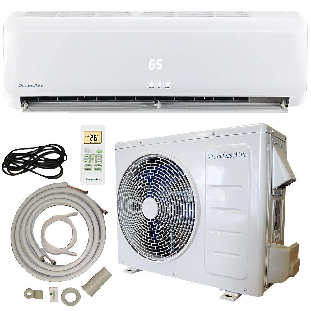 Heat Pump Reviews DuctlessAire 12,000 BTU 22 SEER