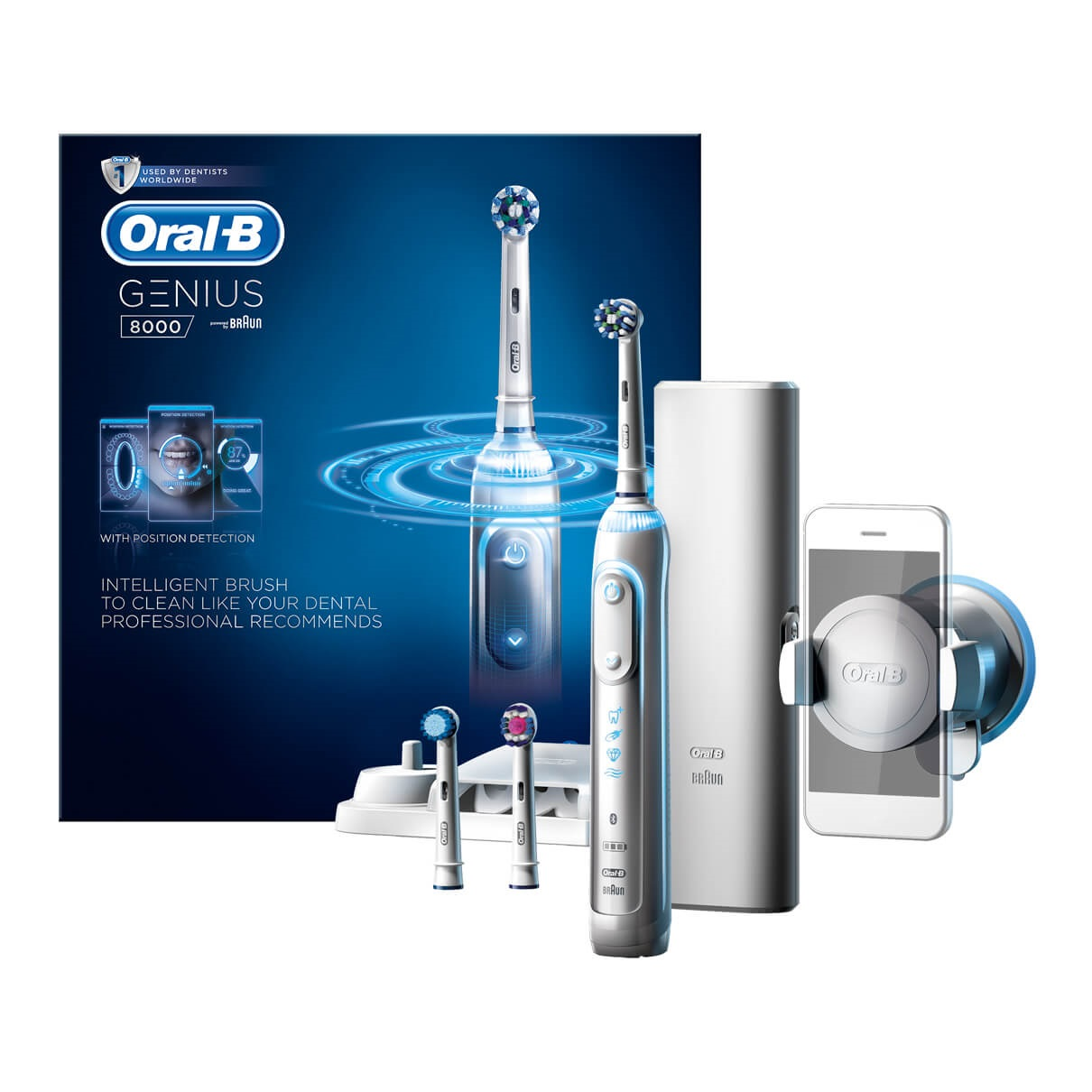 Oral-B-Genius-Pro-8000 electric toothbrush