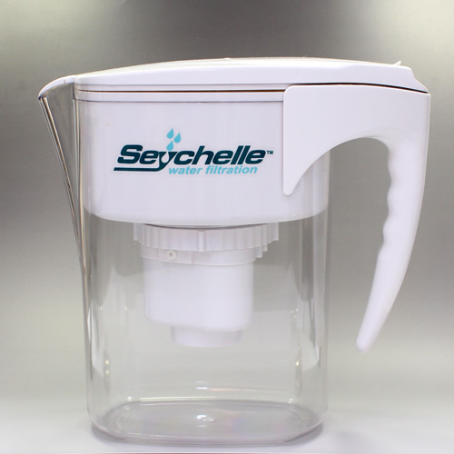 Seychelles 1-40101-W Family Water Filter Pitcher