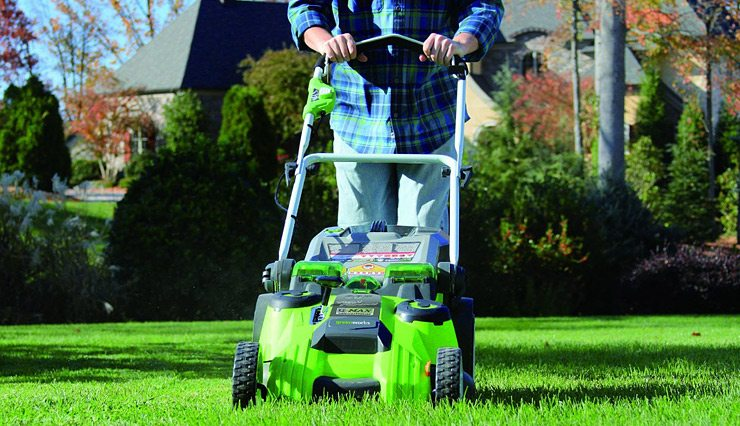 Best Lawn Mower GreenWorks-25022-12-Amp-Corded-20-Inch