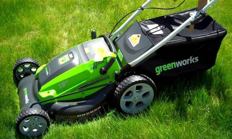 GreenWorks 25022 12 Amp Corded 20-Inch Lawn Mower Reviews