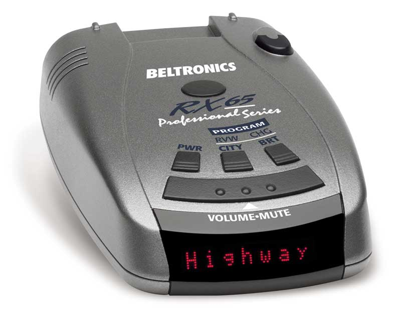 Beltronics RX65-Red Professional Series